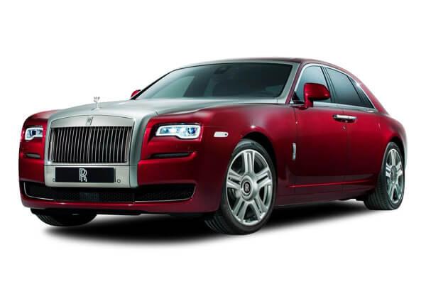 Chauffeur driven Rolls Royce Phantom